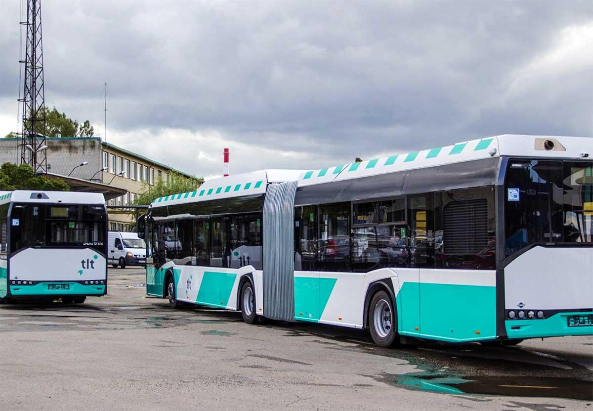 Estonie : Tallinn teste ses deux premier bus au bioGNV