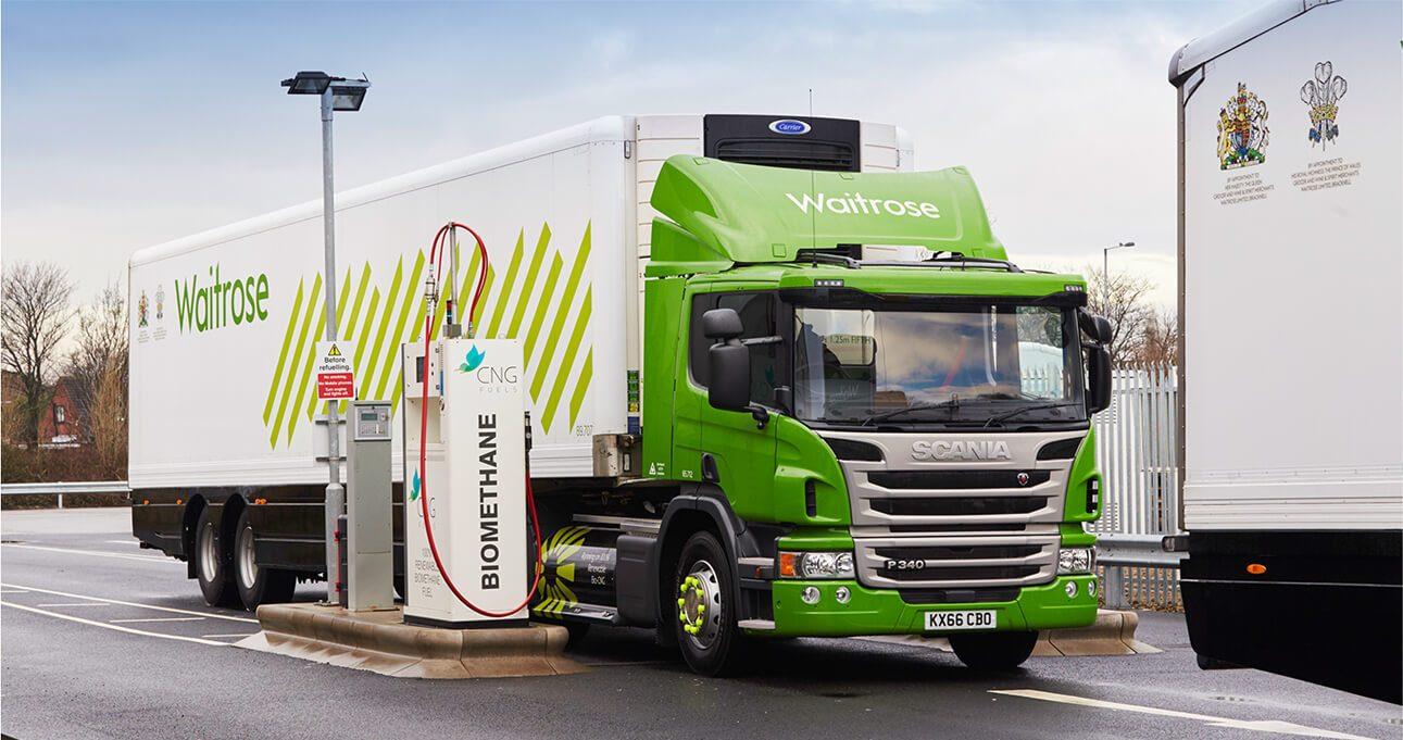 Le Royaume-Uni mise sur le bioGNV pour décarboner le transport lourd