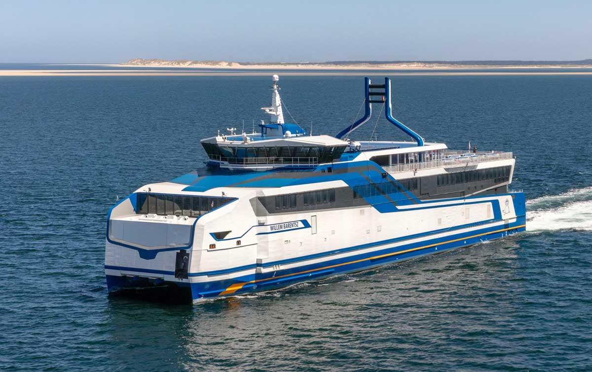 Pays-Bas : essais réussis pour les ferries GNL de BMT
