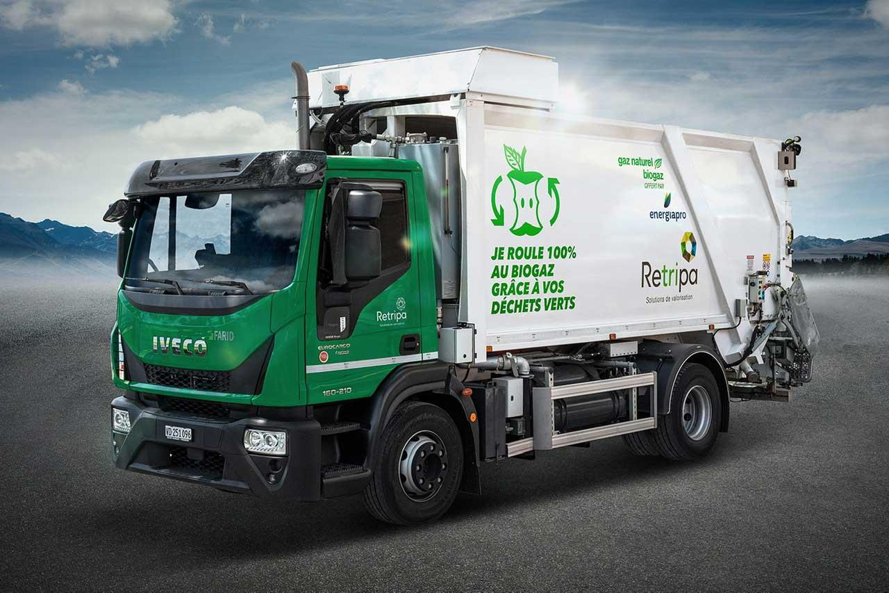 Suisse : du biogaz pour les camions bennes du canton de Vaud
