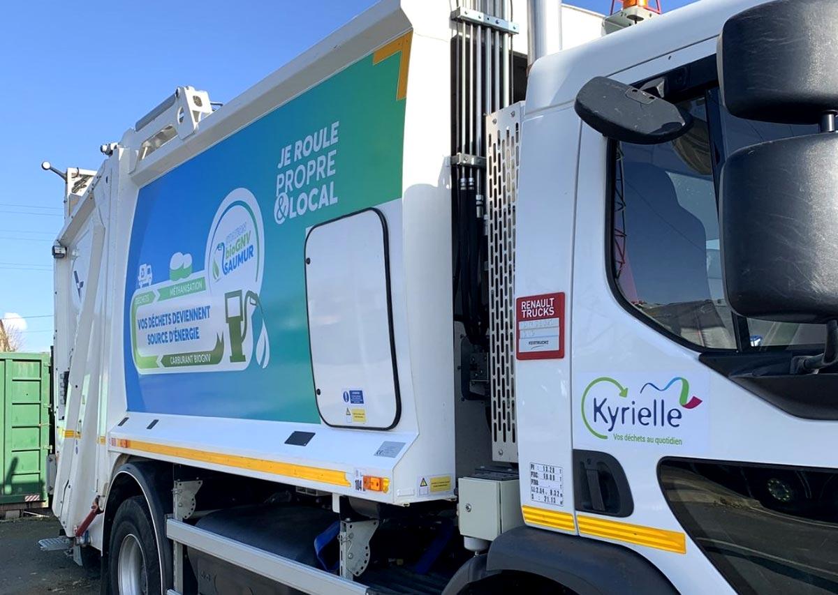 Collecte des déchets : les Pays de la Loire plébiscitent le bioGNV