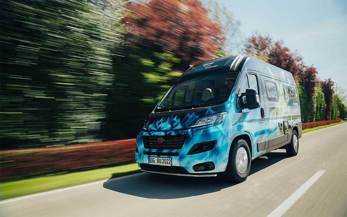 Burstner présente son premier camping-car au gaz naturel