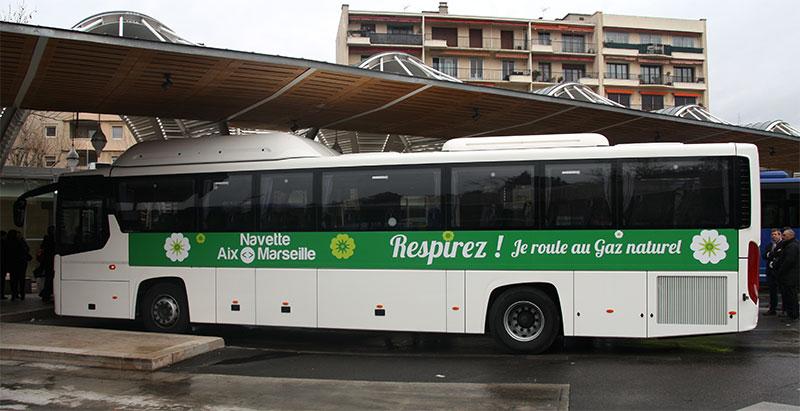 Aix-Marseille-Provence veut faire rouler ses bus au biogaz