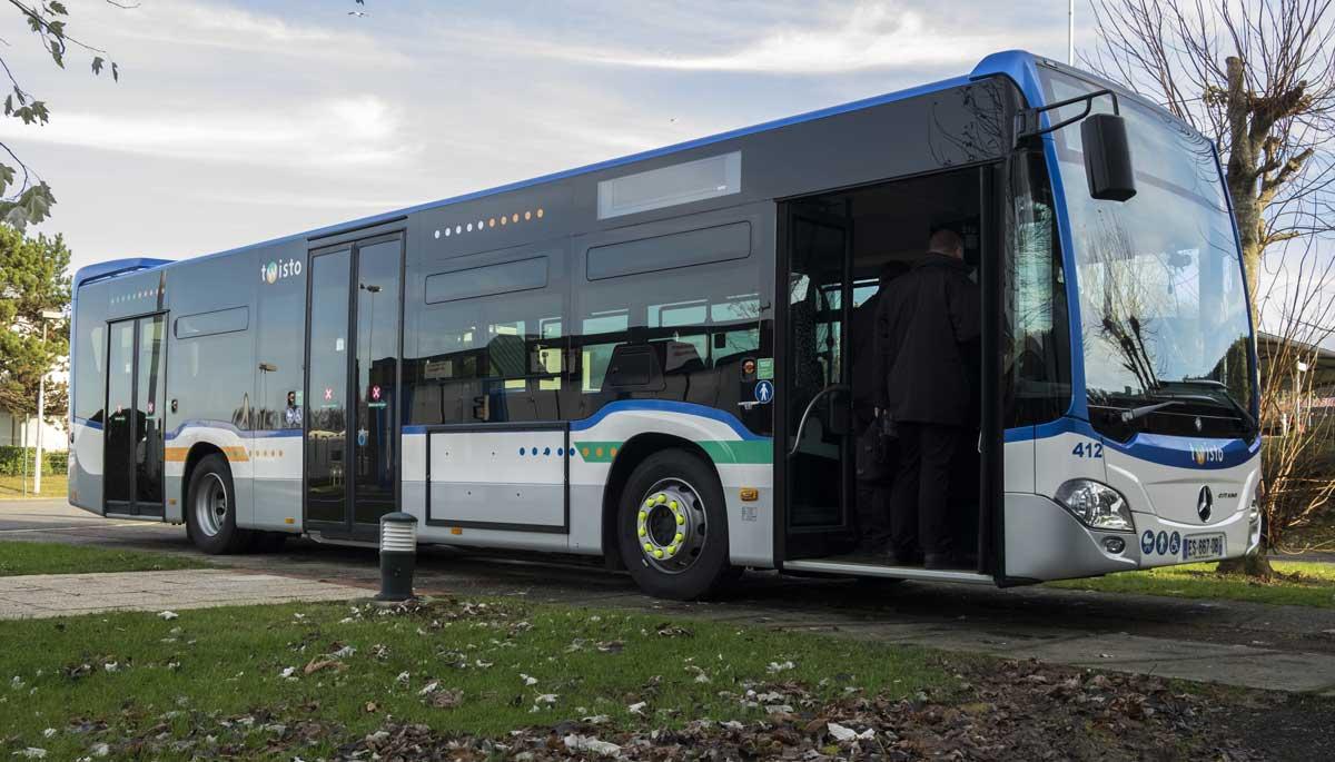 Comment Caen-la-Mer compte convertir l'intégralité de ses bus au biogaz