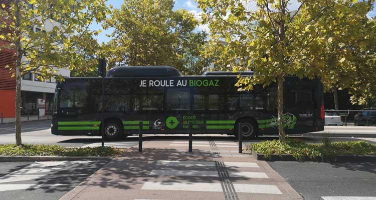Le Grand Dax reçoit ses nouveaux bus au biogaz