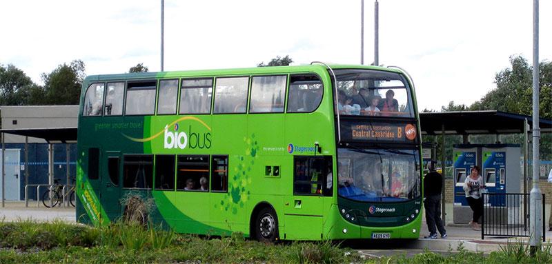 Angleterre : plein gaz sur les bus au biométhane !