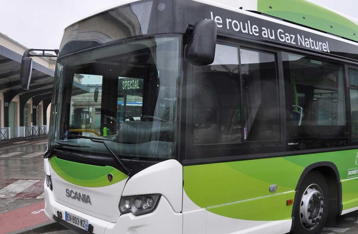 Bus GNV : la France en tête des immatriculations en Europe en 2019