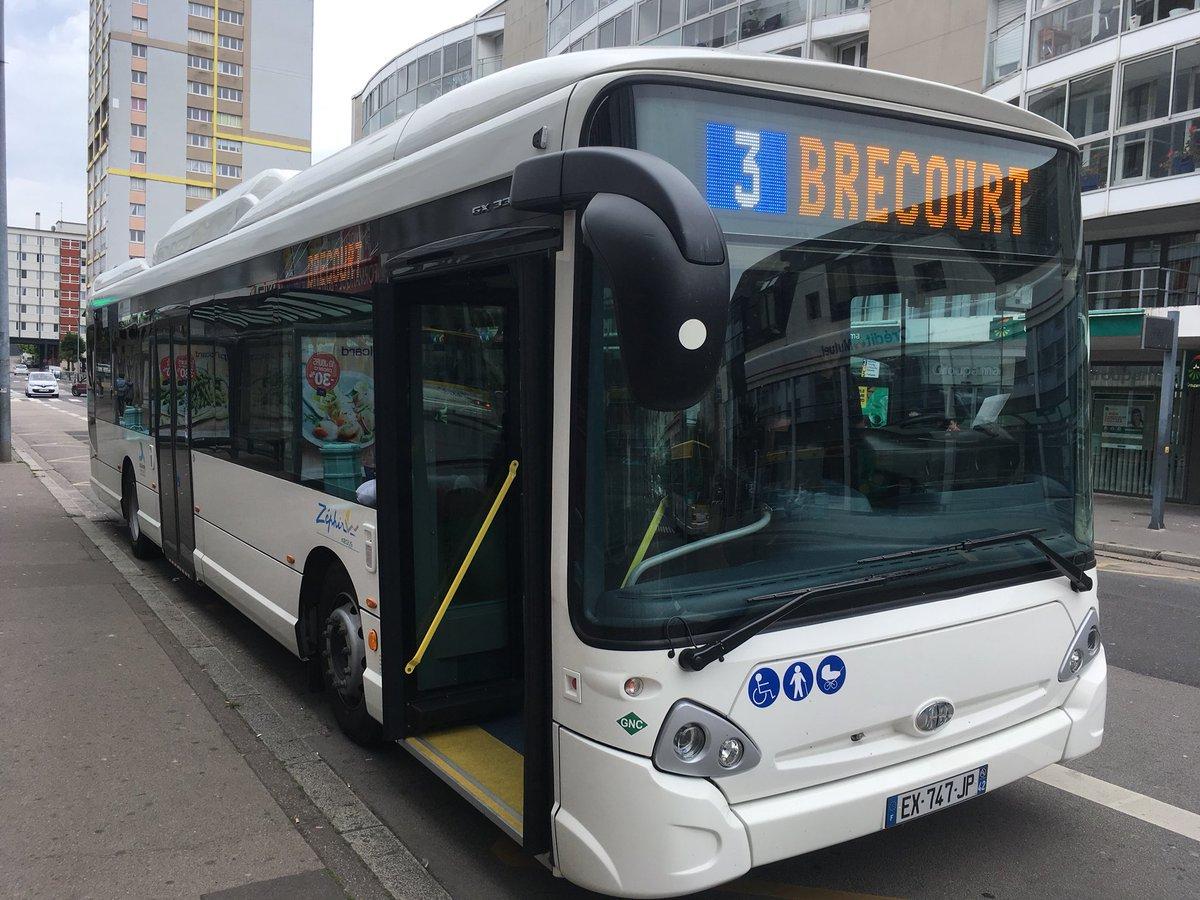 Cherbourg : des bus GNV à l'essai sur le réseau Zéphir