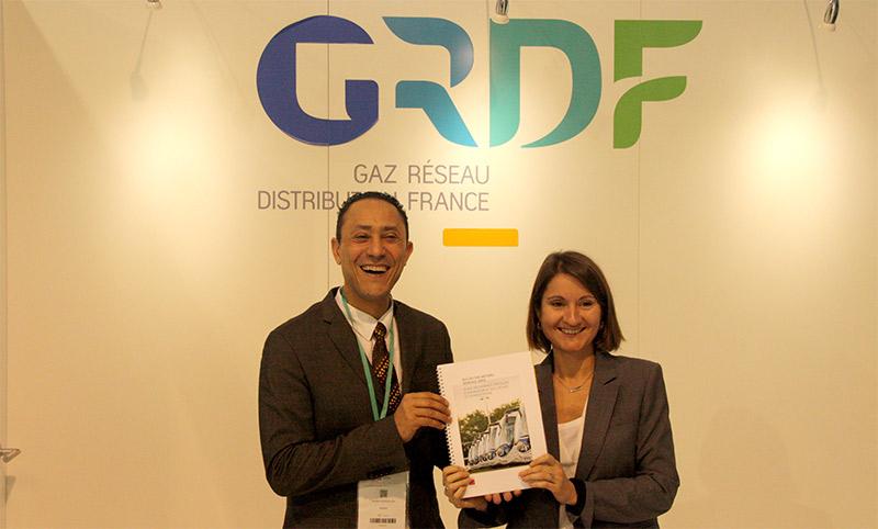 Bus au gaz naturel : un guide des bonnes pratiques édité par l'ADEME et GRDF