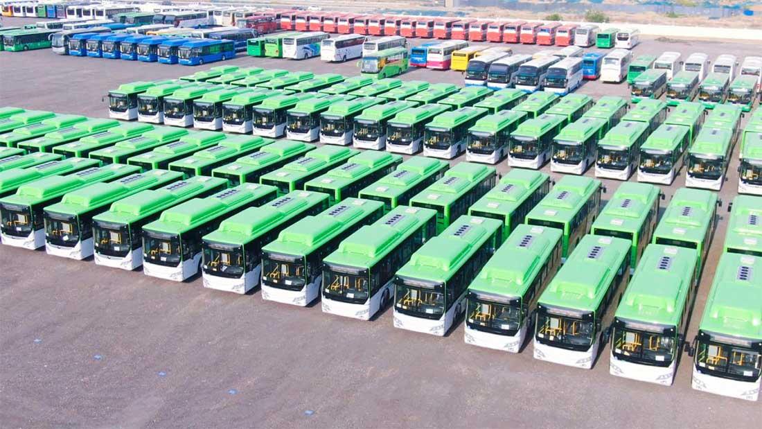 Des bus au gaz chinois pour le Kazakhstan