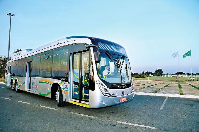 Brésil : un premier bus au gaz naturel pour la ville de Récife