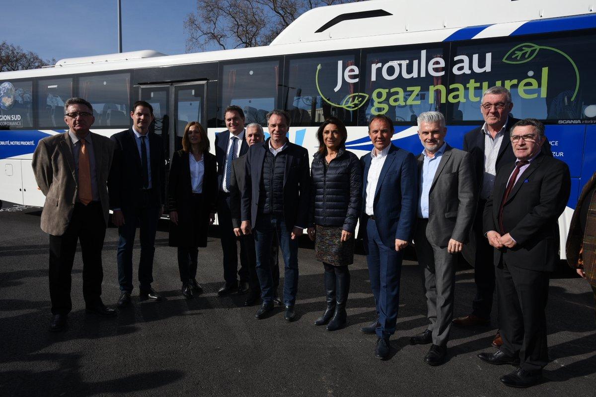 La Région PACA inaugure ses nouveaux autocars GNV