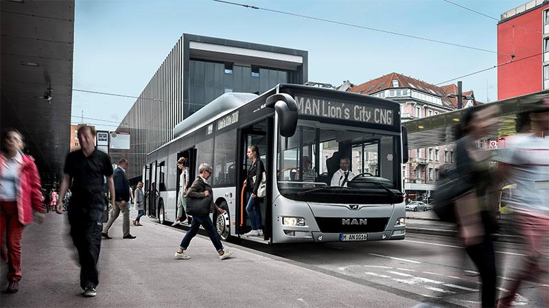 Italie : MAN va livrer des bus au gaz pour la ville de Trente