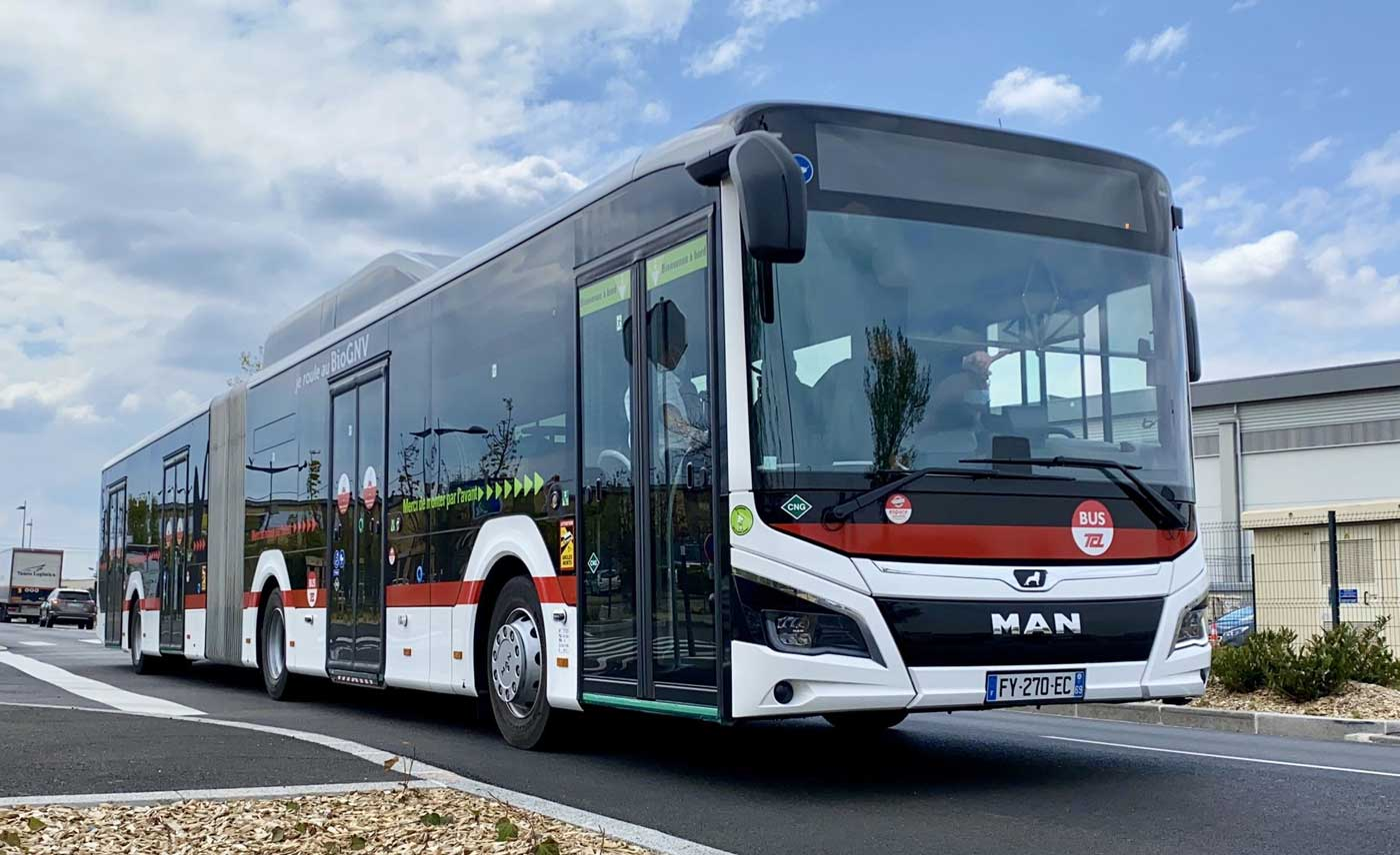 A Lyon, les nouveaux bus au biogaz investissent le réseau TCL