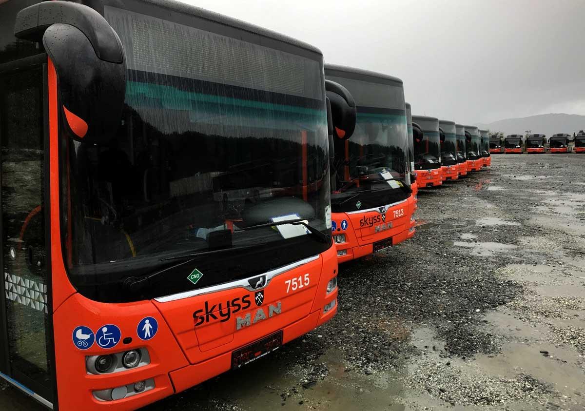 En Norvège, la ville de Bergen fait rouler ses bus au biogaz