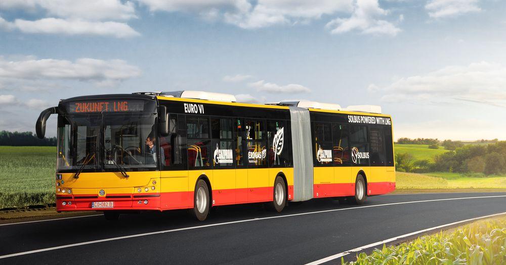 Gazprom et Solbus vont livrer 35 bus GNL � Varsovie
