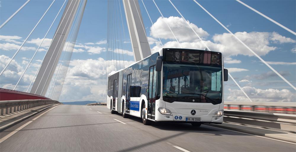 Bus GNV � Un nouveau moteur pour le Mercedes Citaro NGT