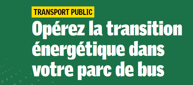 Transports en commun et transition �nerg�tique� Une journ�e d��tude organis�e le 21 mai � Paris