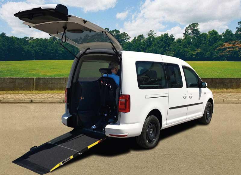Espagne : le Volkswagen Caddy Maxi au gaz naturel adapté pour les personnes à mobilité réduite