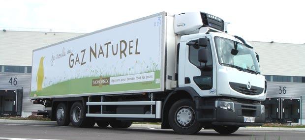 Nouvelle d�duction fiscale pour les camions GNV et biom�thane