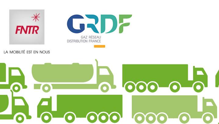 Transport routier & GNV : GRDF et la FNTR expliquent leur partenariat