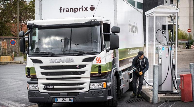 Ile-de-France : 80 % des transporteurs favorables au déploiement de stations GNV