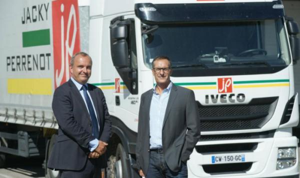 Les premiers camions GNL arrivent en France