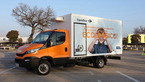 Espagne : Carrefour débute ses livraisons au gaz naturel