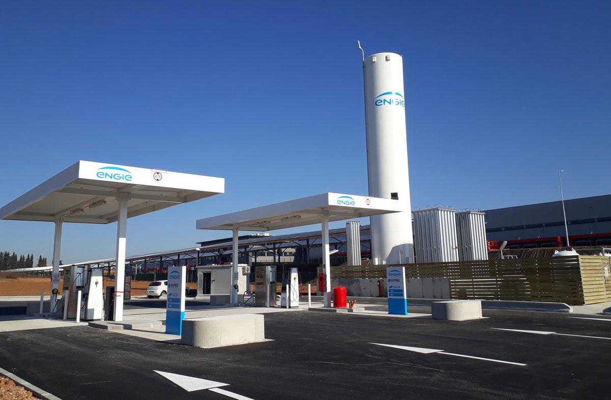Les stations GNV d'ENGIE Solutions vont accepter la carte DKV