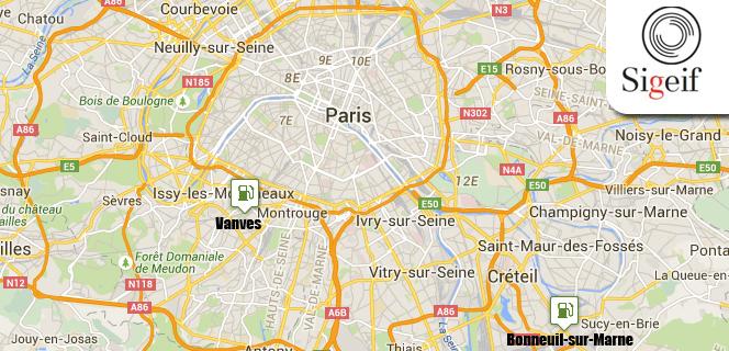 Stations GNV en Ile-de-France � � L�initiative publique se r�v�le n�cessaire �
