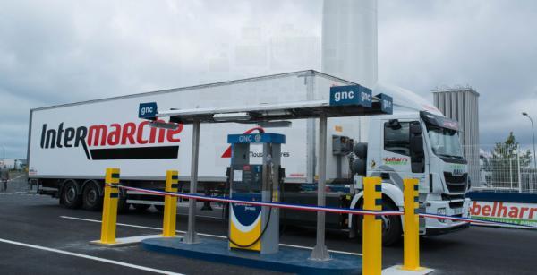 Station GNLc de Gas Natural Fenosa inaugurée en octobre à Castets