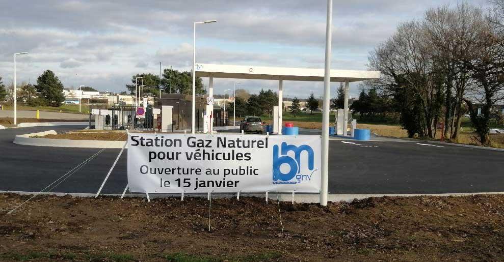 Morbihan : la station GNV de Lorient ouvre ses portes