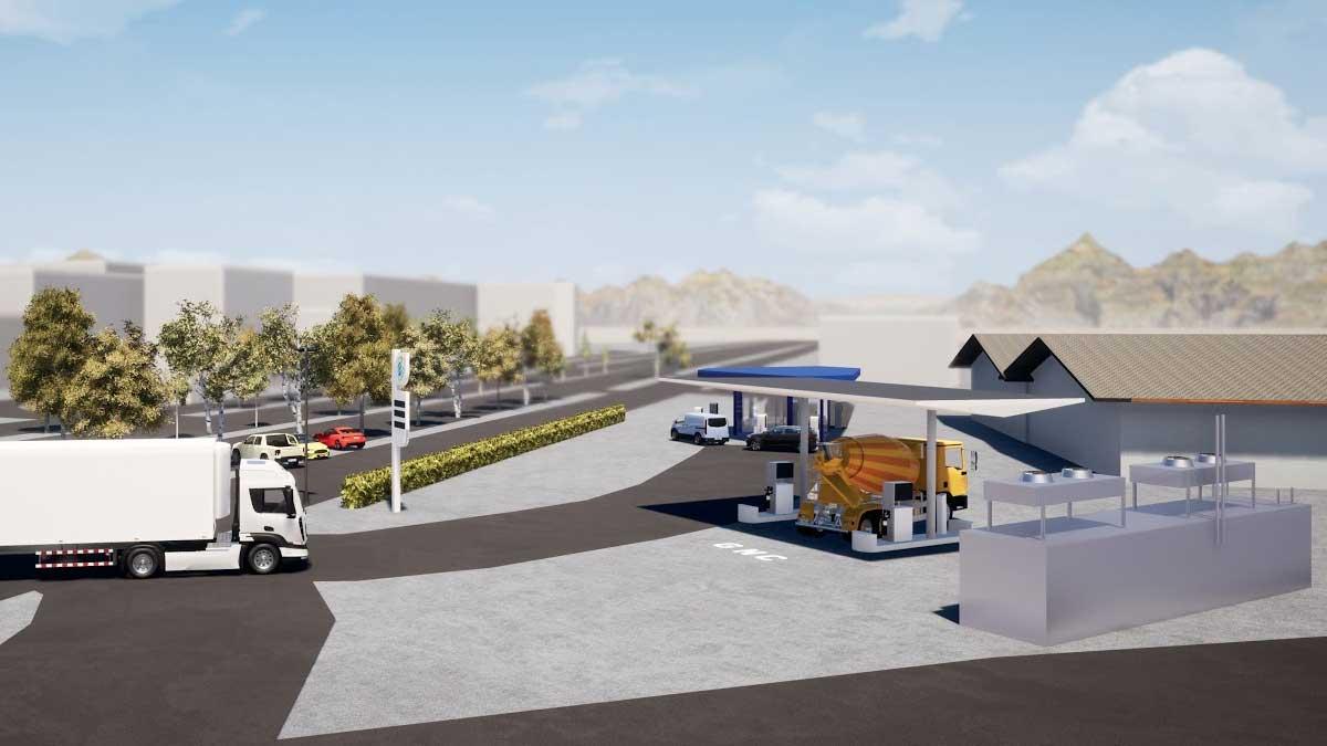 En Savoie, Proviridis débute la construction de la future station GNV de Chambéry