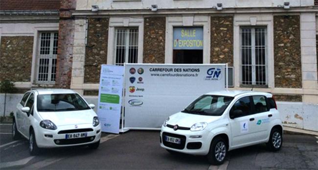 Deux voitures au gaz naturel pour la ville de Chennevi�res