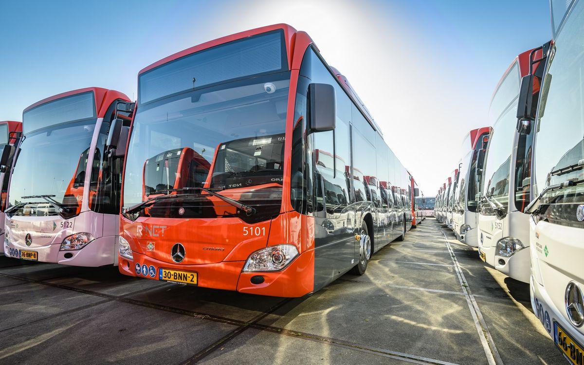 Pays-Bas : La région La Haye-Rotterdam reçoit ses bus GNV hybrides