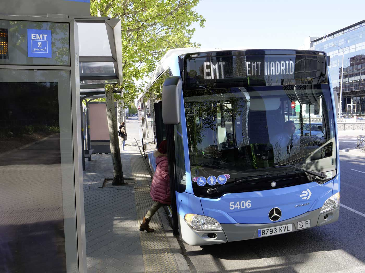 Bientôt 672 Mercedes-Benz Citaro NGT GNV en circulation à Madrid