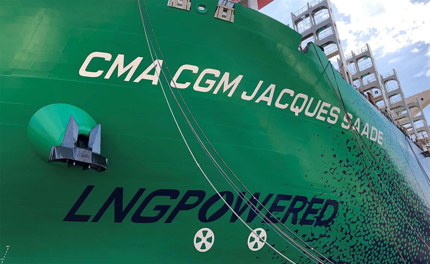 La compagnie maritime CMA CGM investit dans le bioGNL