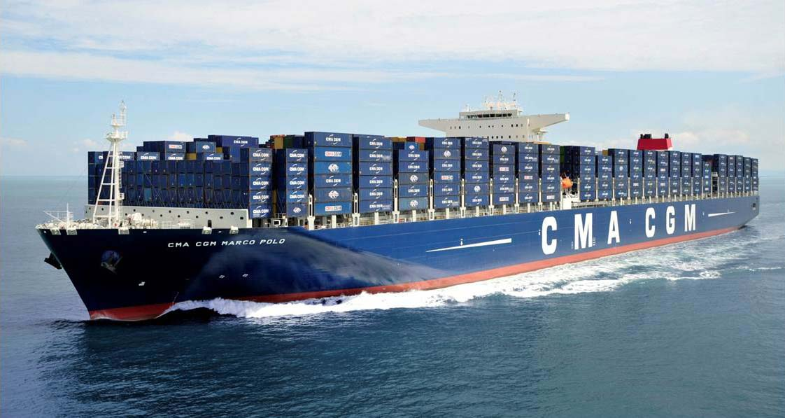 CMA CGM passe commande de 5 nouveaux porte-conteneurs au GNL