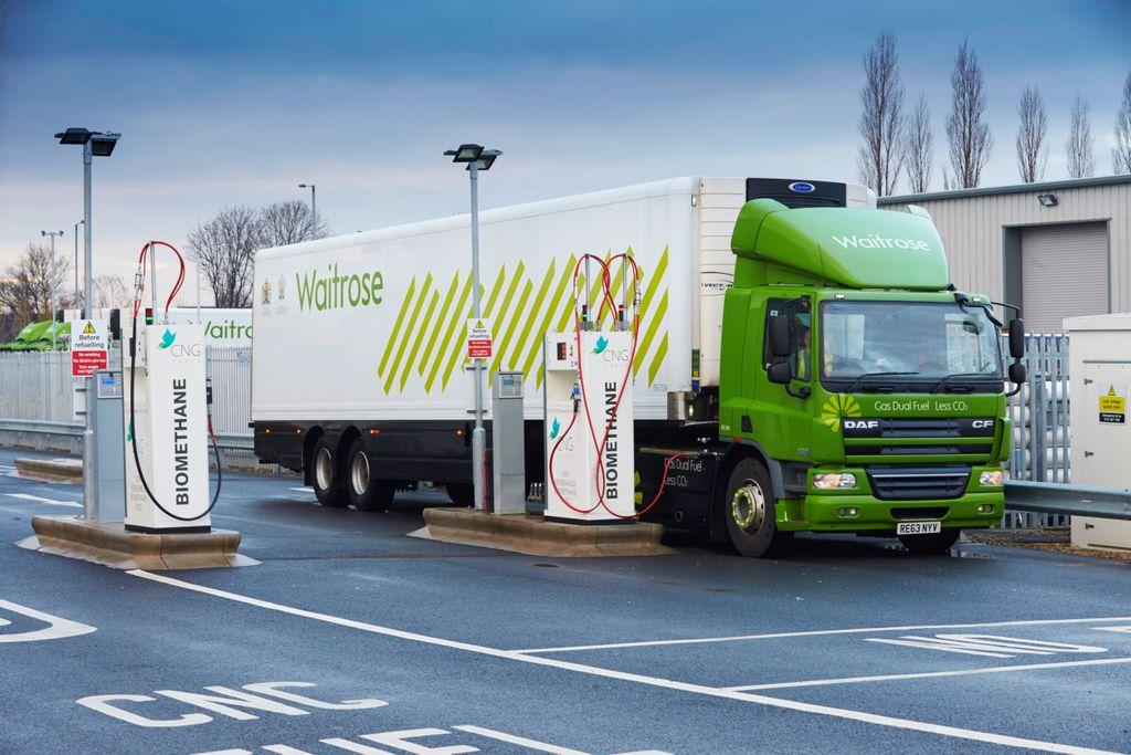 Royaume-Uni : ouverture de la plus grande station bioGNV pour poids lourds d'Europe