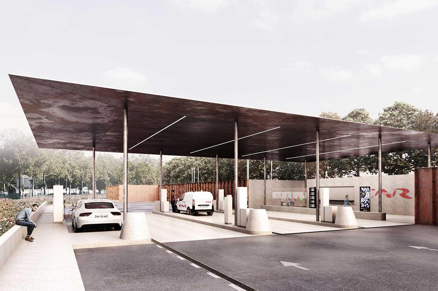 Lyon : une station multi-énergies vertes avec la CNR et GNVert