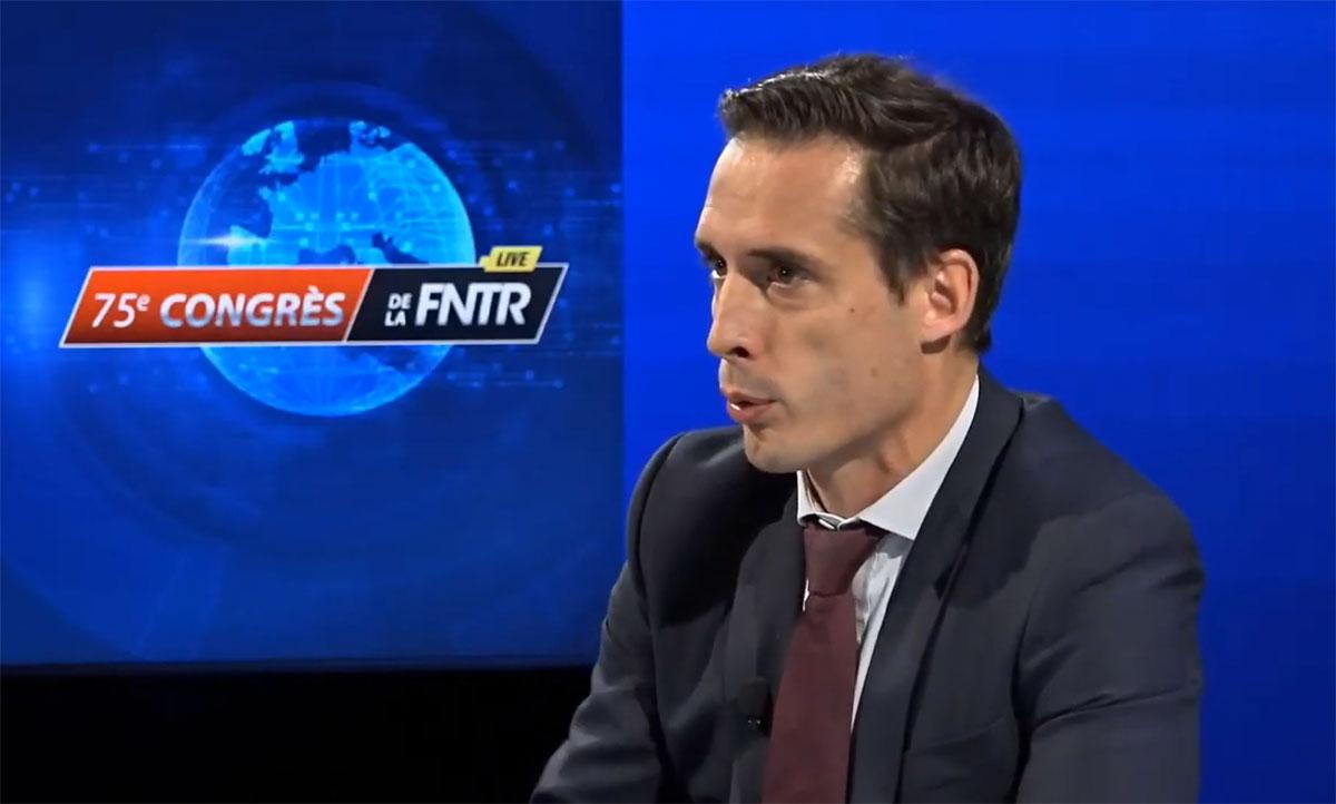 Transport routier : pour Jean-Baptiste Djebbari, la réalité c'est le gaz