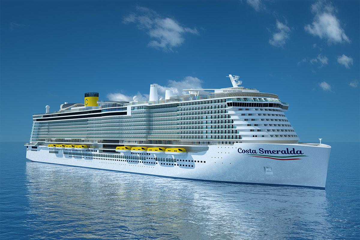 Costa Croisières entame la construction de son premier navire GNL