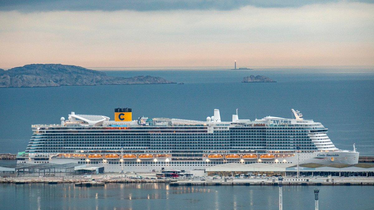GNL : première escale à Marseille pour le Costa Smeralda