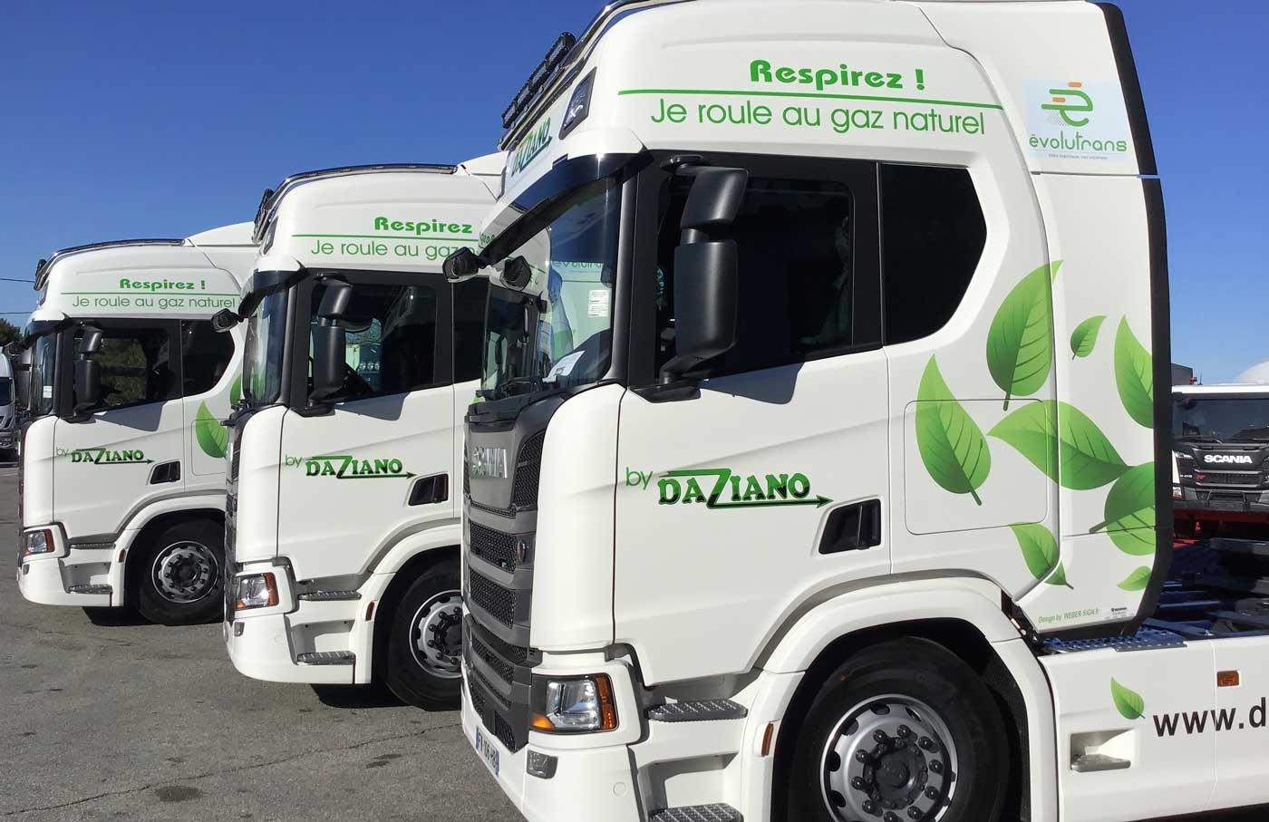 Les Transports Daziano misent sur le GNV