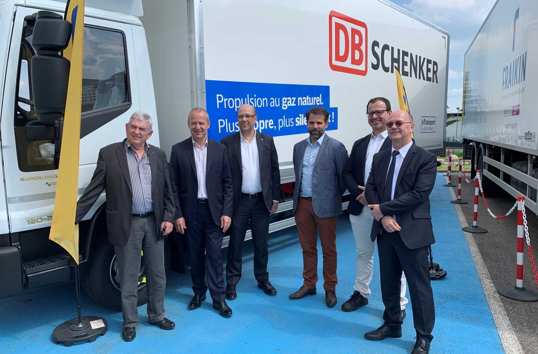 A Nancy, DB Schenker reçoit son premier camion GNV