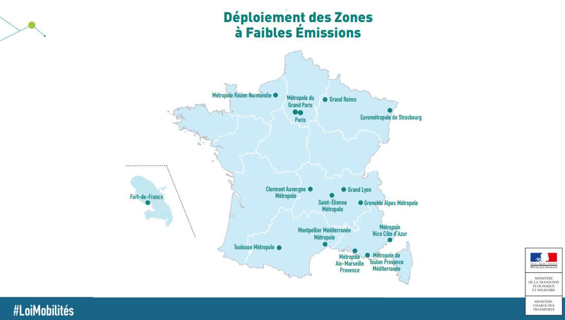 La progression des ZFE en France plaide pour la mobilité GNV