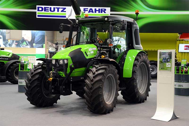 Deutz pr�sente un prototype de tracteur agricole au GNV