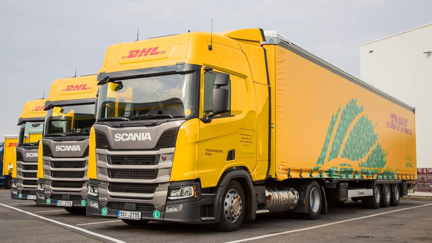 DHL Supply Chain élargit sa flotte de camions GNV