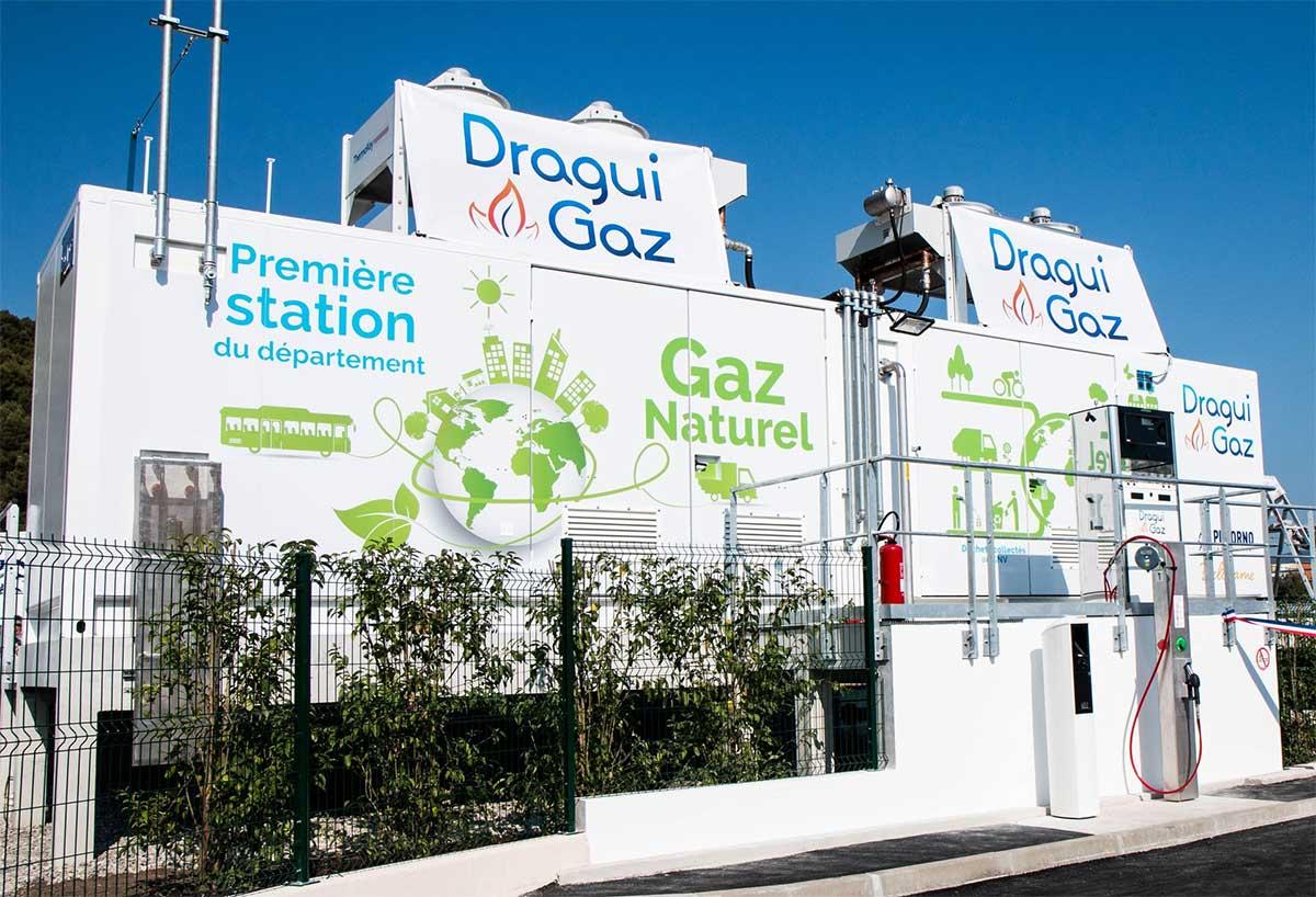 Dragui Gaz : avec Proviridis, Pizzorno et Beltrame ouvrent une station GNV commune