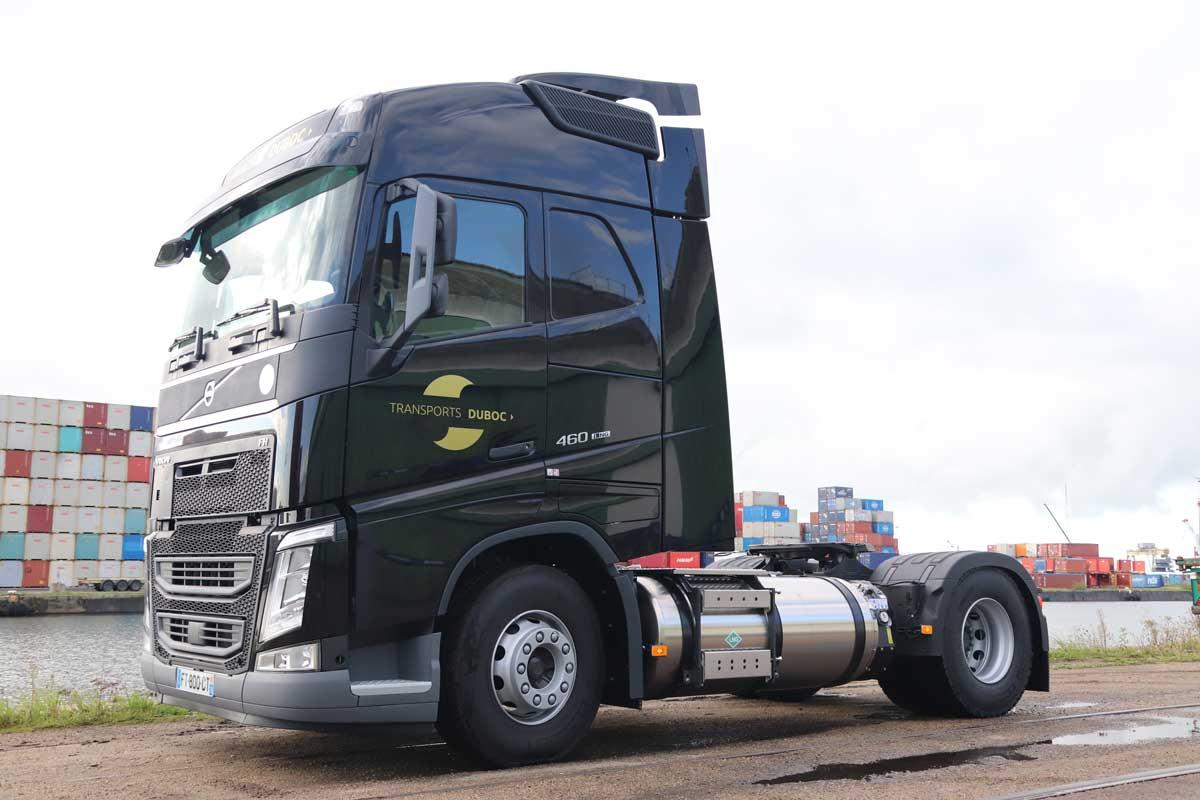 Normandie : Duboc s'équipe de camions GNL avec Volvo Trucks